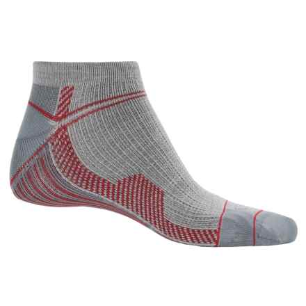 Farm to Feet Roanoke Run Sporting Socks - Merino Wool, Ankle (For Men) in Silver Heather - Closeouts