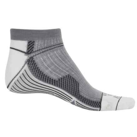Farm to Feet Roanoke Run Sporting Socks - Merino Wool, Ankle (For Men) in White - Closeouts