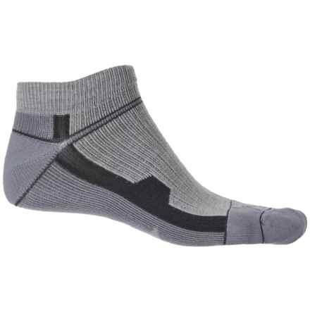 Farm to Feet Roanoke Socks - Ankle (For Men) in Silver Heather - Closeouts
