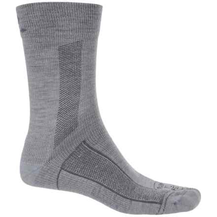 Farm to Feet Sport Greensboro Socks - Crew (For Men and Women) in Monument - Closeouts