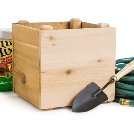 Farmer D Eco Mini Cube Planter 12x12