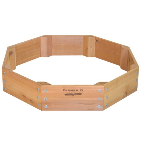 Farmer D Eco Octagon Planter 36