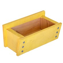 "Farmer D Window Box Planter - 18"" in Yellow - Closeouts"
