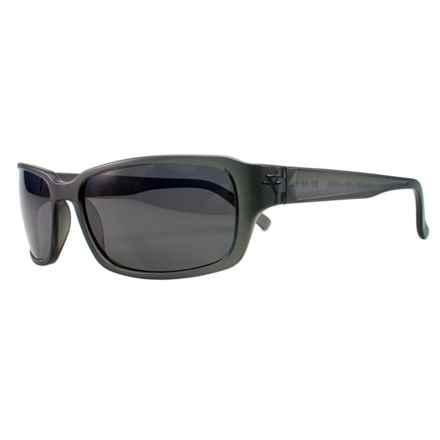 Fatheadz Jaxon Sport Sunglasses - Polarized in Grey/Smoke - Overstock