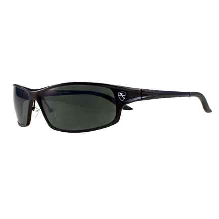 Fatheadz Knuckleduster Sport Sunglasses - Polarized in Black/Smoke - Overstock