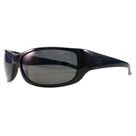 Fatheadz The Boss Sport Sunglasses - Polarized in Black/Smoke