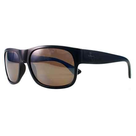 Fatheadz The Don Sport Sunglasses - Polarized in Black/Amber - Overstock