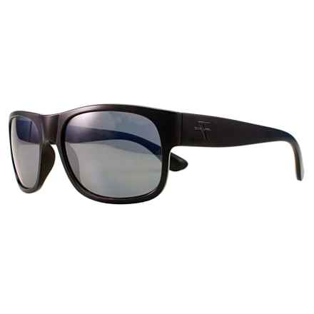Fatheadz The Don Sport Sunglasses - Polarized in Black/Smoke - Overstock