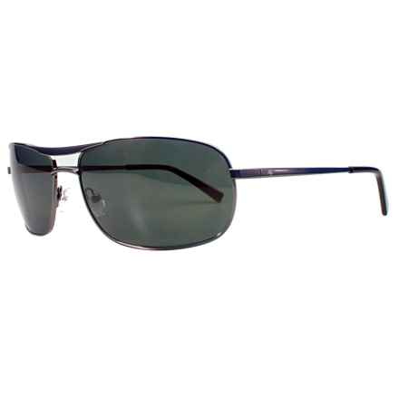 Fatheadz The Law Aviator Sport Sunglasses - Polarized in Gunmetal/Smoke - Overstock