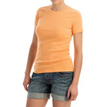 Favorite Cotton T-Shirt - Short Sleeve (For Women) in Orange - 2nds