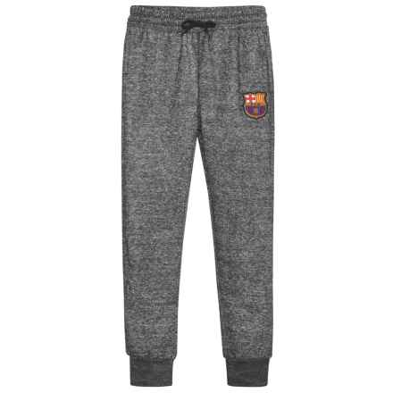 FCB FC Barcelona Patch Joggers (For Kids) in Black Snow - Closeouts