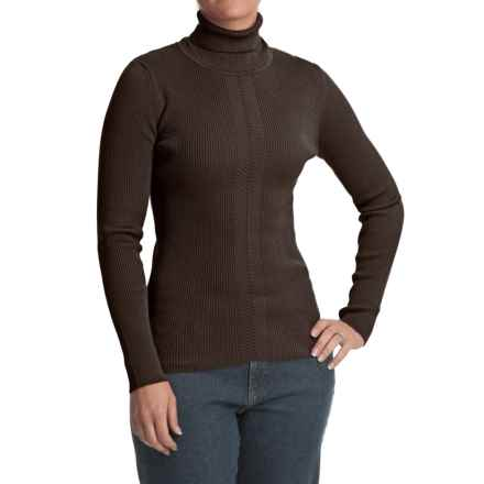 FDJ French Dressing 12-Gauge Turtleneck Sweater (For Women) in Mahogany - Closeouts
