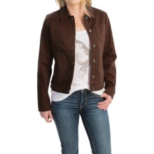 FDJ French Dressing Autumn Hues Jacket - Cotton Blend (For Women) in Cocoa - Closeouts