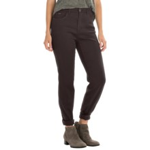 FDJ French Dressing Butter Denim Peggy Pants - Straight Leg (For Women) in Mahogany - Closeouts