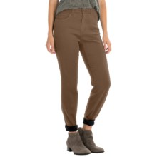 FDJ French Dressing Butter Denim Peggy Pants - Straight Leg (For Women) in Vicuna - Closeouts