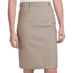 FDJ French Dressing Cape Cod Plaid Skirt (For Women) in Multi