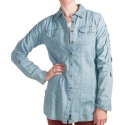 FDJ French Dressing Chambray Shirt - Long Sleeve (For Women) in Indigo