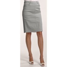 FDJ French Dressing Colored Jean Skirt (For Women) in Dove Grey - Closeouts