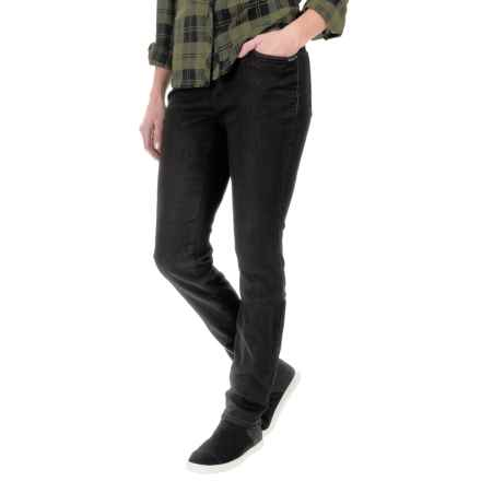 FDJ French Dressing Cozy Denim Jeggings - Slim Fit (For Women) in Black - Closeouts