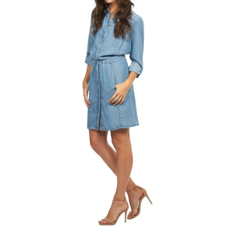 FDJ French Dressing Denim Dress TENCEL(R), Long Sleeve (For Women)