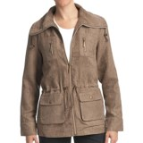 FDJ French Dressing Drawstring Jacket - Faux Suede (For Women)