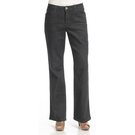 FDJ French Dressing Dusty Euro Denim Jeans - Bootcut, Stretch Cotton Blend (For Women) in Blue/Black