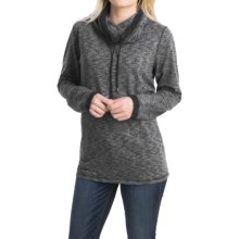 FDJ French Dressing French Terry Shirt - Funnel Neck, Long Sleeve (For Women) in Charcoal - Closeouts