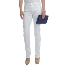 FDJ French Dressing Kylie Colored Jeans - Slim Leg (For Women) in White - Closeouts