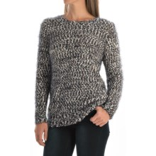 FDJ French Dressing Multi Boucle Sweater (For Women) in Indigo - Closeouts