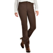 FDJ French Dressing Olivia Autumn Hues Jeans - Straight Leg (For Women) in Cocoa - Closeouts