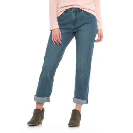 FDJ French Dressing Olivia Boyfriend Jeans (For Women) in Sky - Closeouts