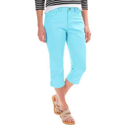 FDJ French Dressing Olivia Capris (For Women) in Aqua - Closeouts