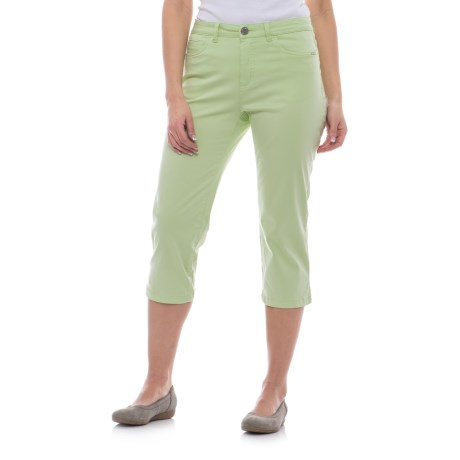 FDJ French Dressing Olivia Capris (For Women) in Pistachio