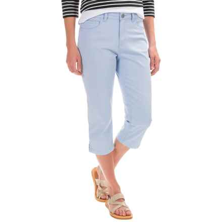 FDJ French Dressing Olivia Capris (For Women) in Sky Blue - Closeouts