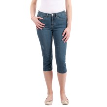 FDJ French Dressing Olivia Capris (For Women) in Vintage Denim - Closeouts