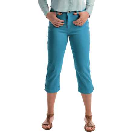 FDJ French Dressing Olivia Colored Capris (For Women) in Azure - Closeouts