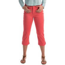 FDJ French Dressing Olivia Colored Capris (For Women) in Coral - Closeouts