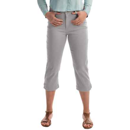 FDJ French Dressing Olivia Colored Capris (For Women) in Silver - Closeouts