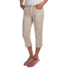 FDJ French Dressing Olivia Colored Capris (For Women) in Straw - Closeouts