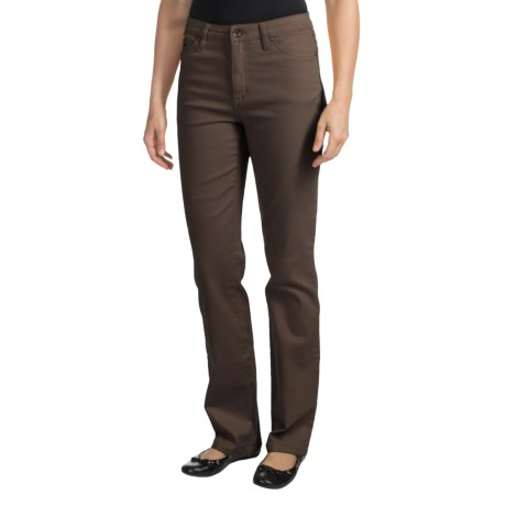 FDJ French Dressing Olivia Colored Denim Jeans - Straight Leg (For Women) in Ivy