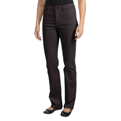 FDJ French Dressing Olivia Colored Denim Jeans - Straight Leg (For Women) in Wineberry