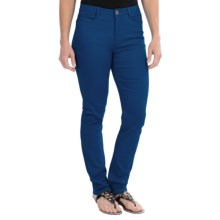 FDJ French Dressing Olivia Colored Jeans - Stretch Cotton, Slim Leg (For Women) in Pacific - Closeouts