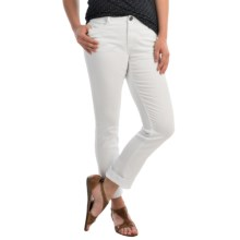 FDJ French Dressing Olivia Colored Jeans - Stretch Cotton, Slim Leg (For Women) in White - Closeouts