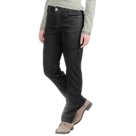 FDJ French Dressing Olivia Cozy Denim Jeans - Mid Rise, Slim Leg (For Women) in Black - Closeouts