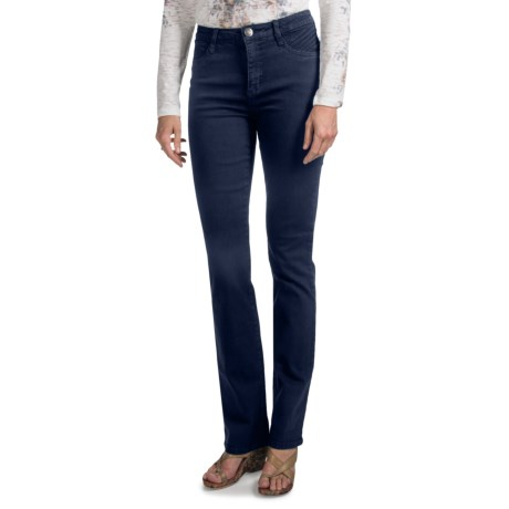 FDJ French Dressing Olivia Diamond Denim Jeans - Straight Leg (For Women) in Dark Wash