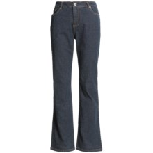 FDJ French Dressing Olivia Flare Jeans - Natural Fit (For Women) in Ink Blue - Closeouts