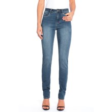 FDJ French Dressing Olivia Jeans - Slim Fit (For Women) in Vintage Denim - Closeouts