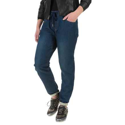 FDJ French Dressing Olivia Jog Denim Pull-On Jeans - Mid Rise (For Women) in Indigo - Closeouts