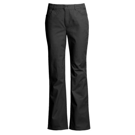 FDJ French Dressing Olivia Pants - Bootcut, Stretch Cotton (For Women) in Black