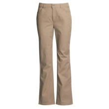 FDJ French Dressing Olivia Pants - Bootcut, Stretch Cotton (For Women) in Tan - Closeouts